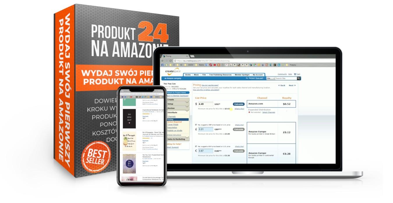 Kurs Amazon Produkt24 - Lekcje wideo