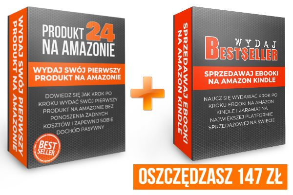 Pakiet Amazon: Produkt24 + Wydaj Bestseller